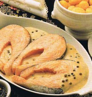 Zalm met pepersaus recept - Vis - Eten Gerechten - Recepten Vandaag