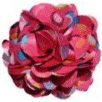 Haarspeld bloem Addison fuchsia