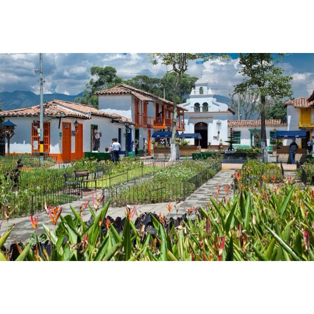 Pueblito paisa Medellín Colombia I'VE BEEN THERE BEFORE ITS BEAUTIFUL