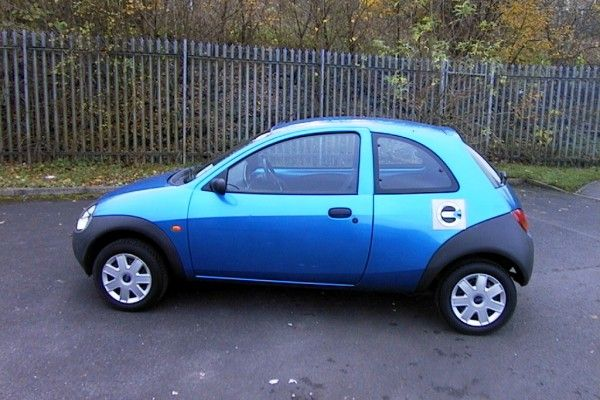 Used Ford Ka Usedcar Finished In Met Blue With Cloth Interior A