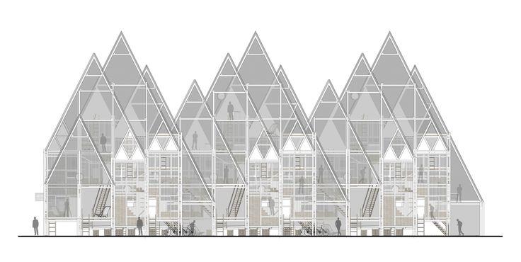 RVPE / Residencias verticales para estudiantes en Concepción, por República Portátil