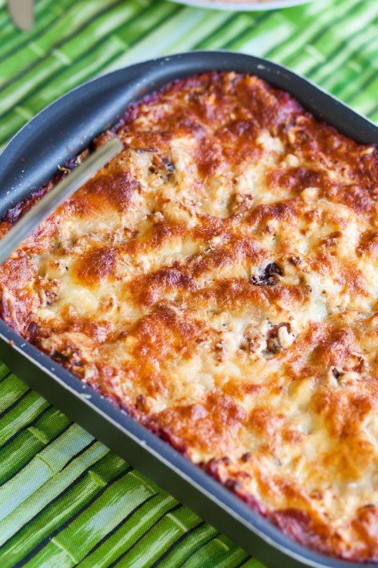 Cheesy Ham and Hash Brown Casserole Breakfast Recipe