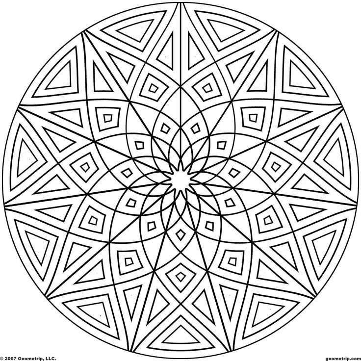 3934 best coloring 6 images on Pinterest Coloring pages, Coloring - new elephant mandala coloring pages easy