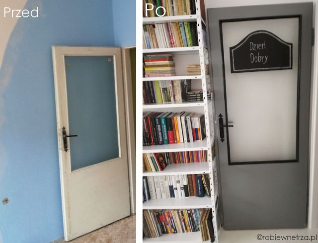 drzwi prl, odnowione drzwi, prl-owskie drzwi, stare drzwi, interior door ideas, interior doors painted