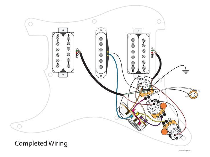 Super HSH Wiring Scheme YouTube Best Of Stratocaster Hsh