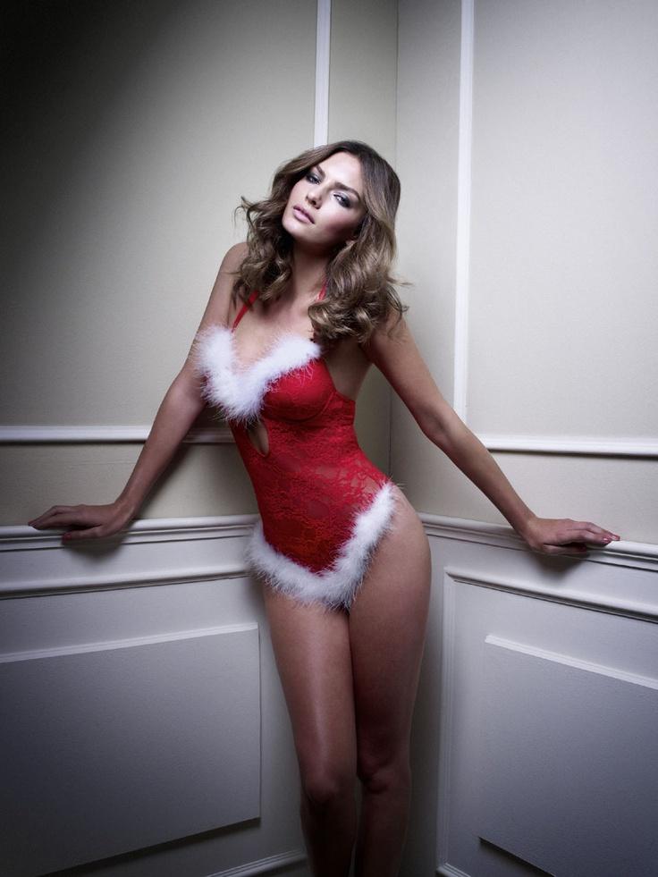 "Alyssa Miller – ""Manor"" Christmas Lingerie 2012 - Alyssa Miller - Zimbio"