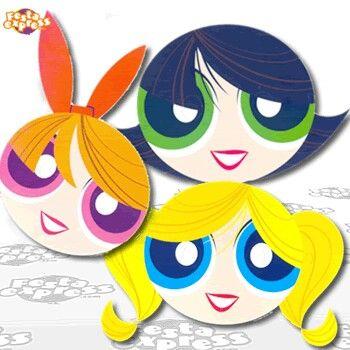 Desenho: As Meninas Super Poderosas Personagem: Docinho, Lindinha e Florzinha