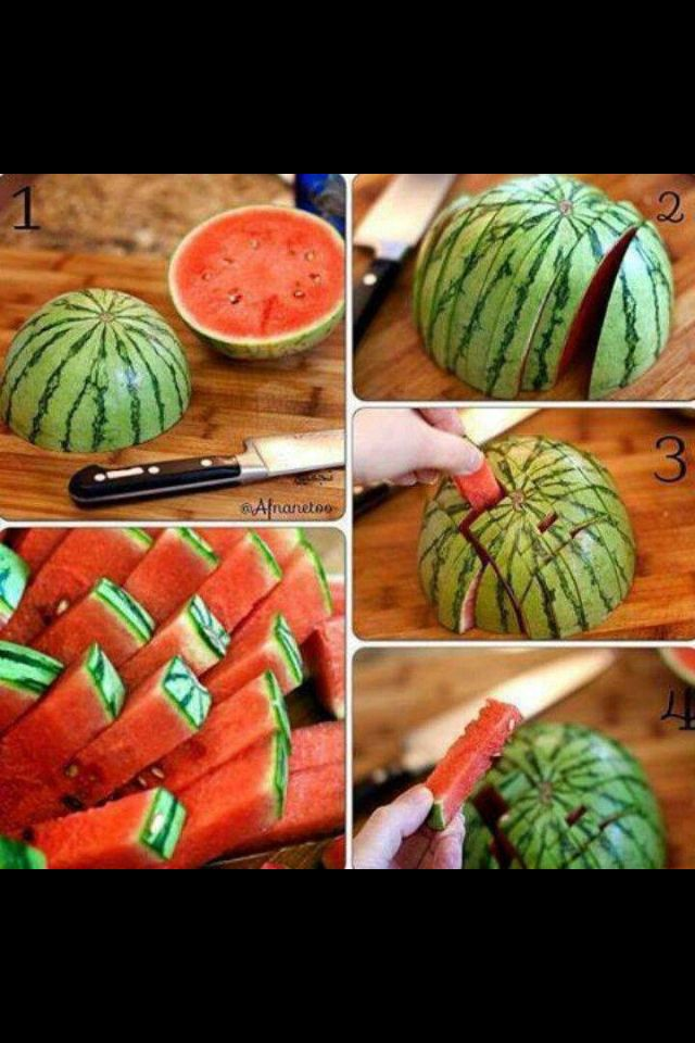 Super Great BBQ idea!!! Def doing this for our annual friends & family BBQ! Always have watermelon at BBQ's! It's a MUST HAVE!!!
