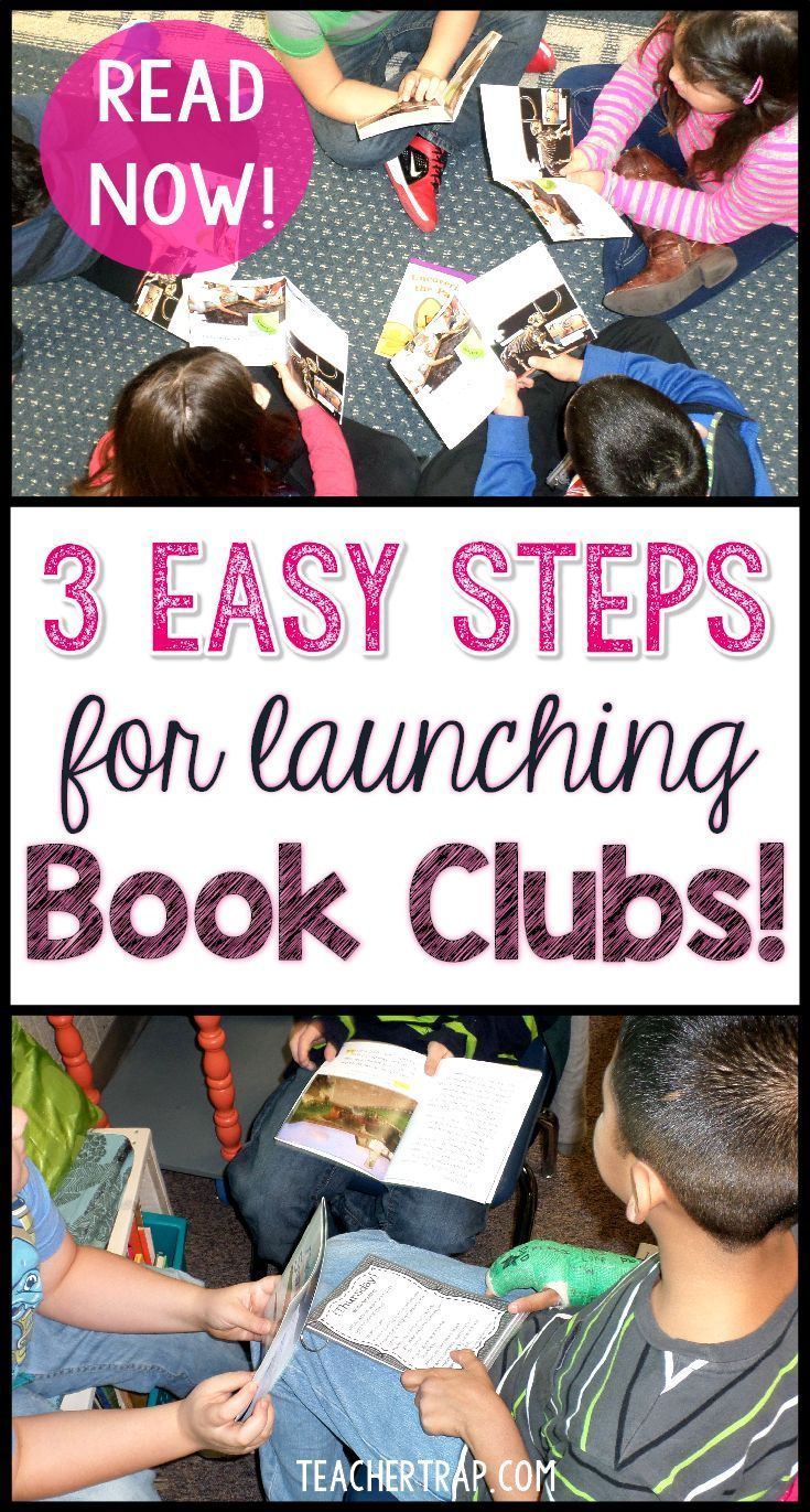 Book Clubs are such a great way to build reading comprehension.  Read about the why and how of launching Book Clubs in your own classroom!