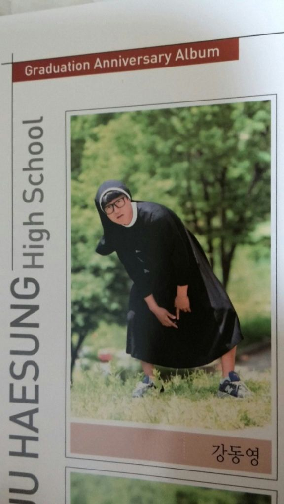 "Korean high schools allow ""anything goes"" yearbook photos, with hilarious results"