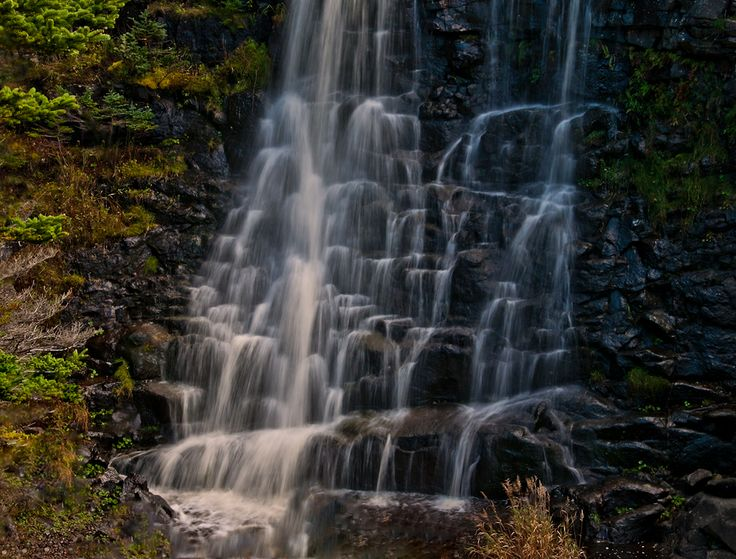 Bohaker Falls ..  Delaps Cove NS