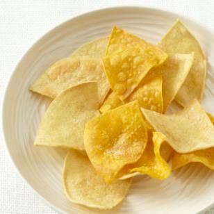 It's definitely worth making your own corn tortilla chips—these low-fat baked tortilla chips have a more pronounced corn flavor than store-bought tortilla chips. (EatingWell)