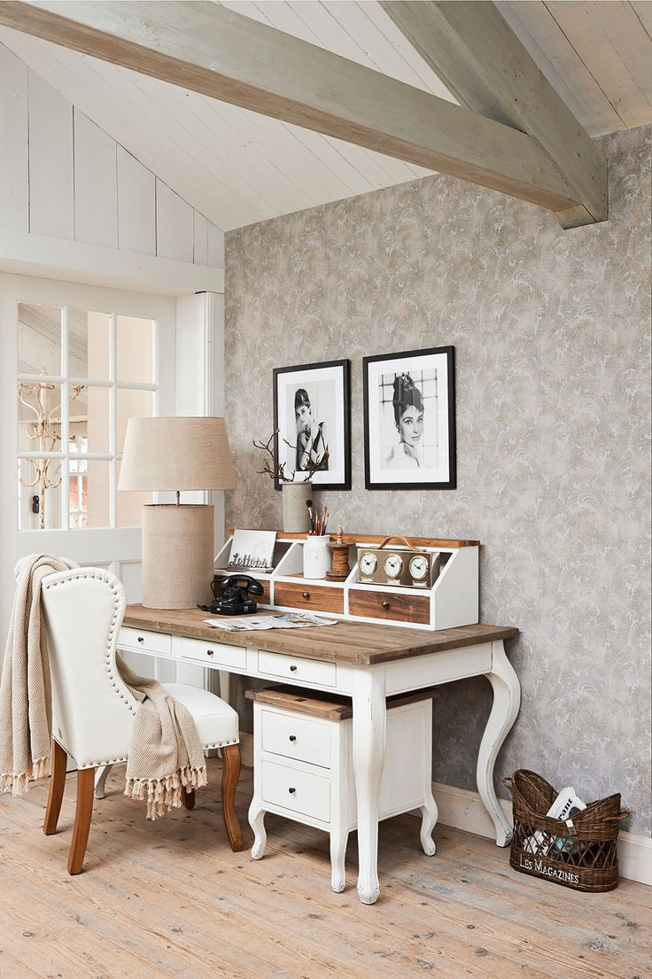 Pretty Paisley. Love your workspace just as much as the rest of your home! Pattern 18384.
