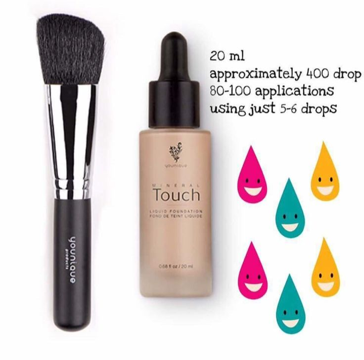 Cream to powder foundation! By far the BEST foundation I have ever used!! For best application apply with a powder brush #younique #foundation #brush $39.00