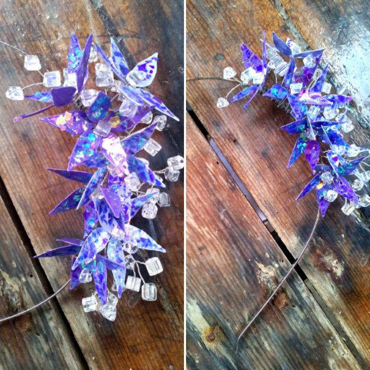 Проволока + лак = украшение для волос. Wire + nail polish = hair accessories.