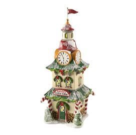 Christmas: Department 56 - North Pole Clock Tower