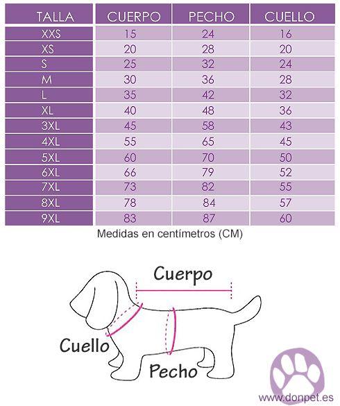como tomar medidas de ropa para perros - Pesquisa Google