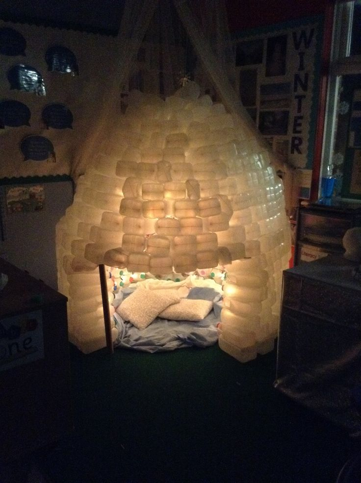 Winter Festivals and Celebrations Milk bottle Igloo