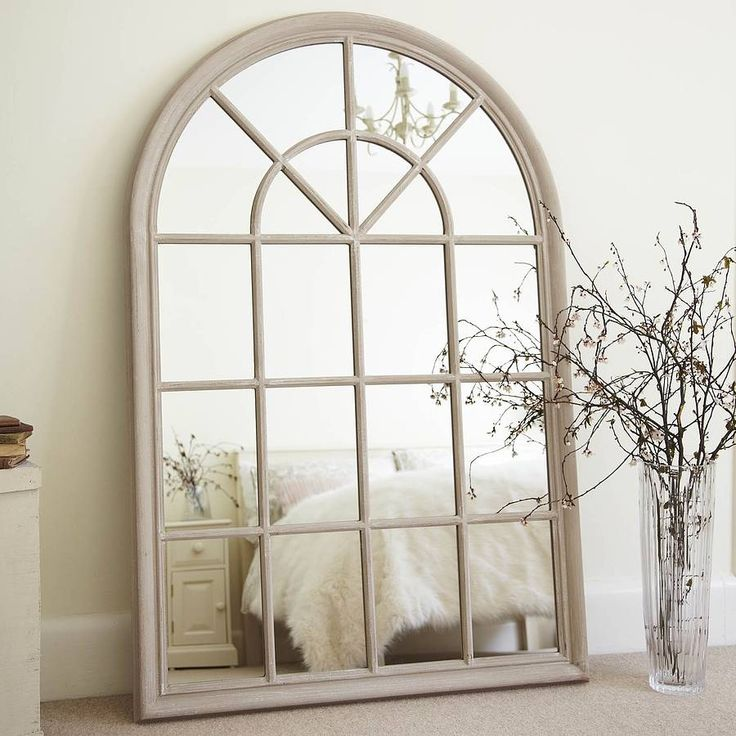 19 best arched wall mirrors images on pinterest wall for Window wall mirror