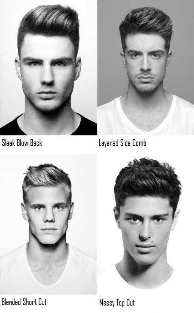 4 New Men's Hairstyles.