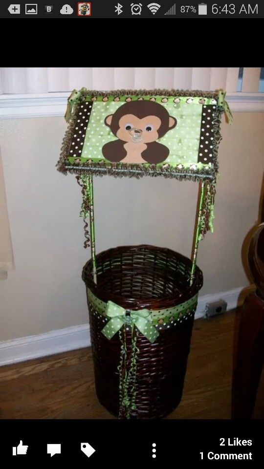 Baby Shower Wishing Well Baby Shower Decoration Baby