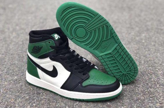 New Look At The Air Jordan 1 Retro High OG Pine Green That
