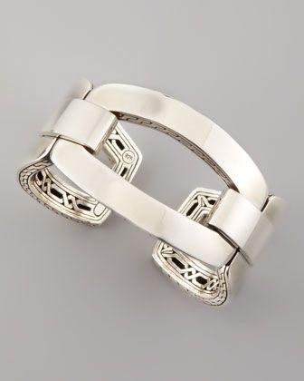 John Hardy Classic Chain Link Cuff - Neiman Marcus