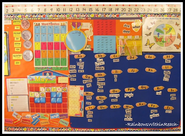 Kindergarten Classroom Calendar Wall : Best images about calendar bulletin boards on pinterest