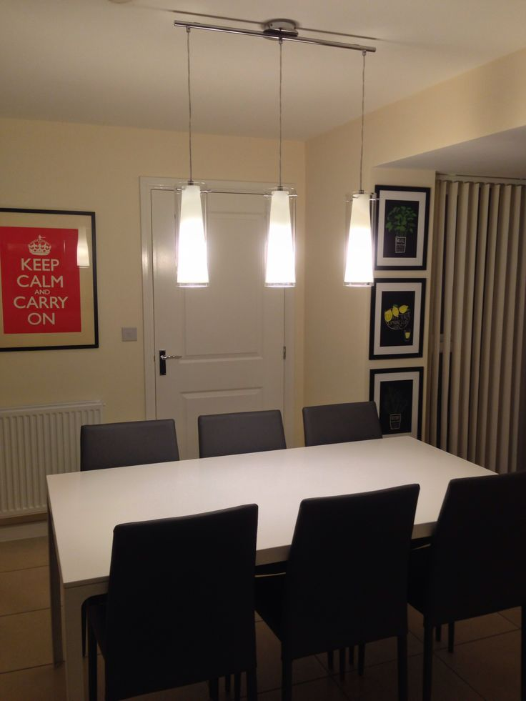 Fitted Recessed Lighting To A New House And Also Beautiful Dining Room Light