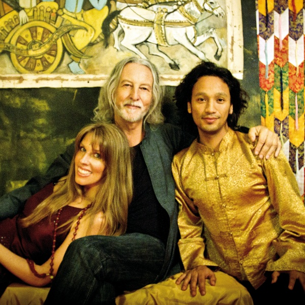 Deva Premal and Miten with Manose. - Deva and Miten are supreme in putting mantras to music. I first heard Deva singing the Gayatri Mantra in a yoga class. I felt it profoundly. This links to some free downloads of her recent music. Manose is a popular bamboo flute player in Nepal. He has been touring with them.