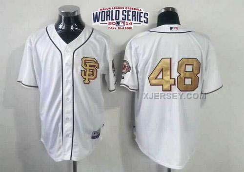 http://www.xjersey.com/giants-48-sandoval-white-gold-number-2014-world-series-cool-base-jerseys.html GIANTS 48 SANDOVAL WHITE GOLD NUMBER 2014 WORLD SERIES COOL BASE JERSEYS Only $34.00 , Free Shipping!