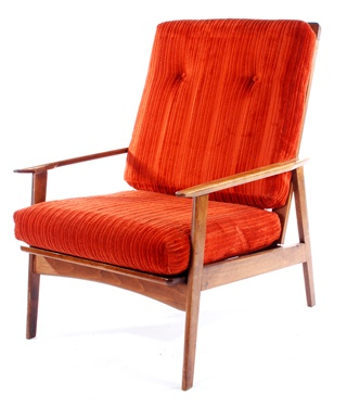Danish modern lounge chair description 1960 39 s design look for Modern furniture for less