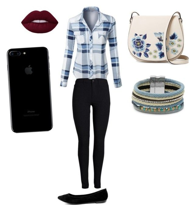 """""""Casual outfit 🌕"""" by marango1706 on Polyvore featuring moda, LE3NO, French Connection, Design Lab y Breckelle's"""