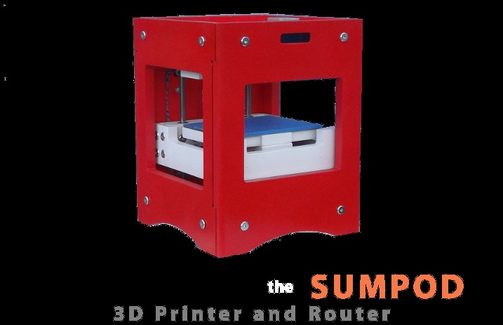 Sumpod 3D Printer & Router from the UK