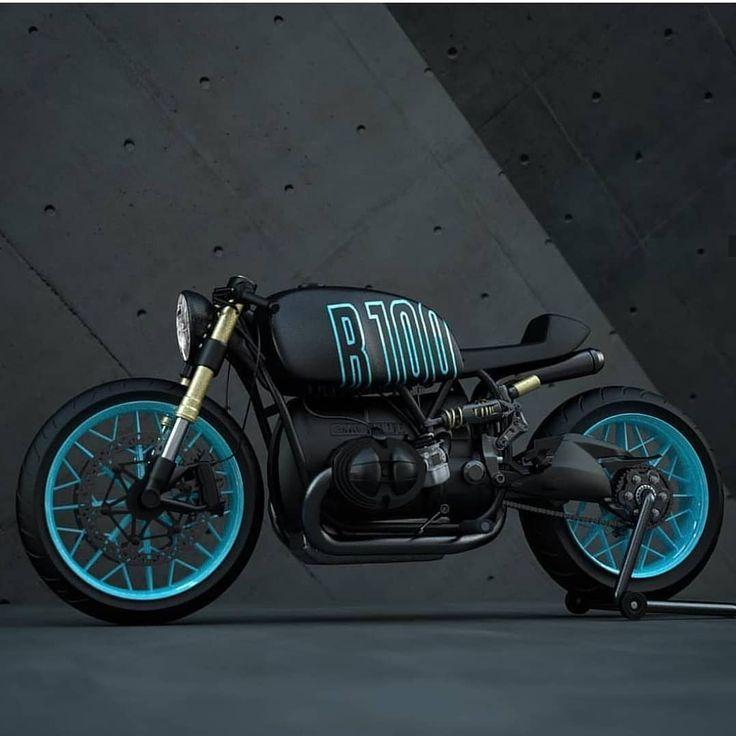 """Biker mit Typ auf Instagram: """"Erheben Sie eine Gebühr von 1 bis 10 👇 für die BMW R100 von Z ... - #bikers #BMW #Instagram # R100 #Rate"""