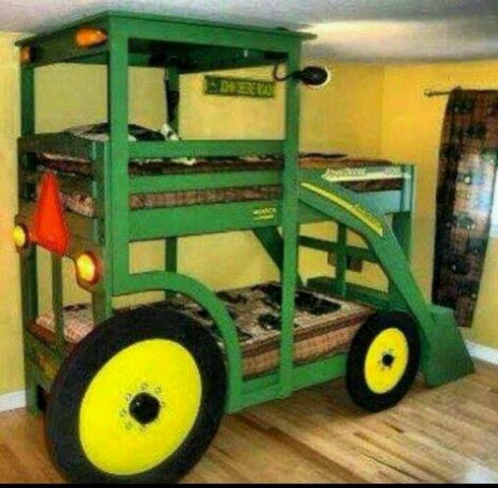 john deere bunk bed tractors pinterest john deere nice and sleep. Black Bedroom Furniture Sets. Home Design Ideas