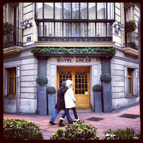 in the center madrid barrio salamanca adler hotel lovespain