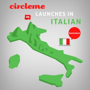 "Good news for our #ItalianCirclers! CircleMe is now fully translated in #Italian! Ready to enjoy our ""FANTASTICO"" #CircleMe?! #CircleMeitaliano #bewhatyoulike"