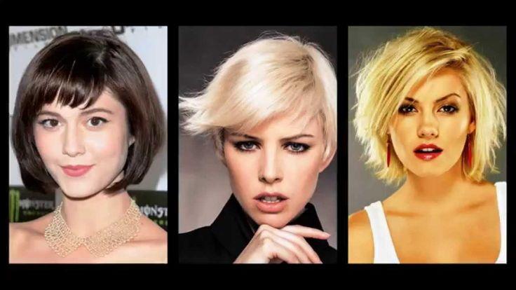 Egyszerű frizurák rövid hajból