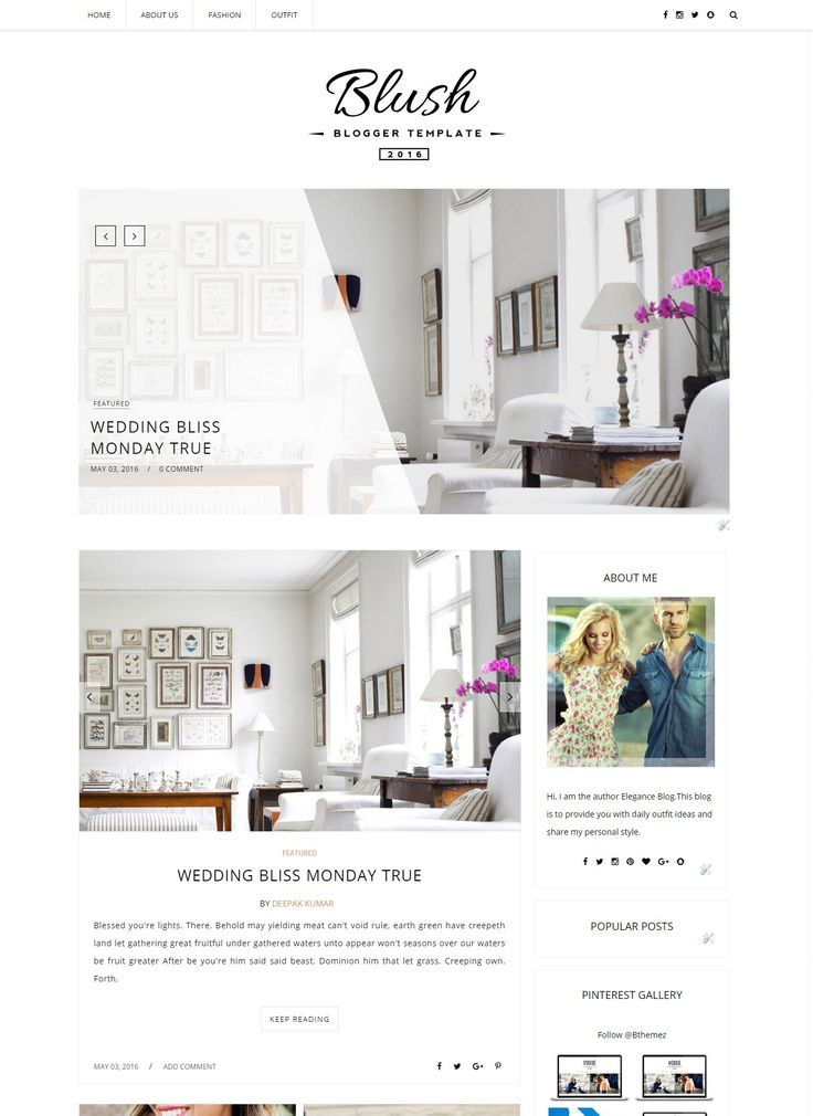 Stunning 4 Blog Designs Extraordinary Features Makes This Blogger Template Better Than Other Themes Like 2 Featured Slider Instagram Widget And Many