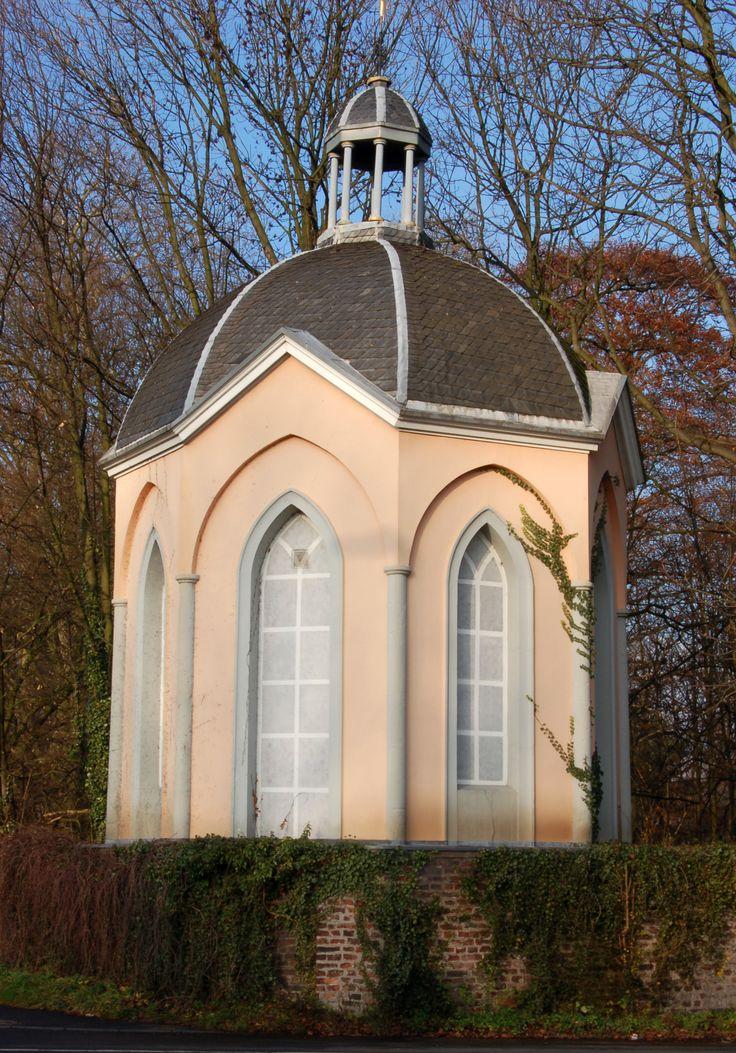 Der Teepavillon, Haus Meer, Meerbusch bei Krefeld, Nordrhein-Westfalen.