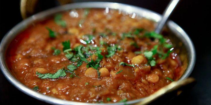 Ινδικό dahl με κόκκινες φακές και νεροκολοκύθα