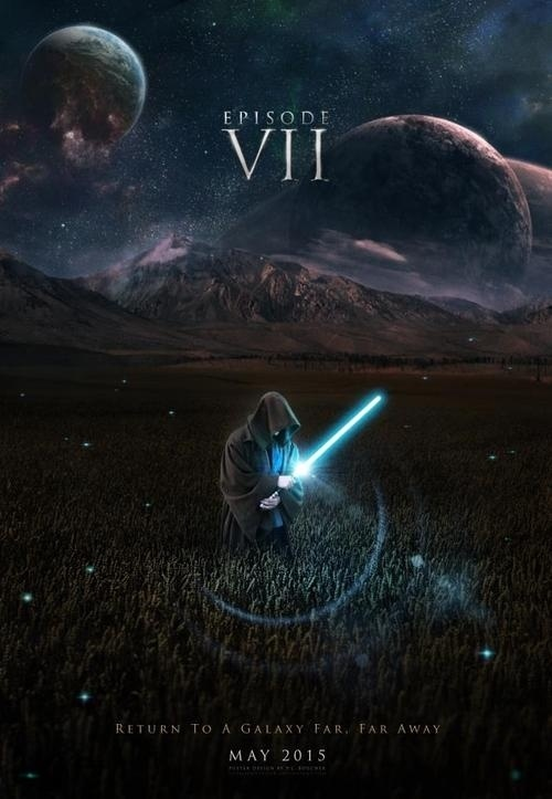 Star Wars 7 concept poster