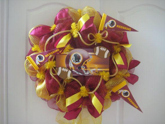 Best 20 Redskins Wreath Ideas On Pinterest Redskins