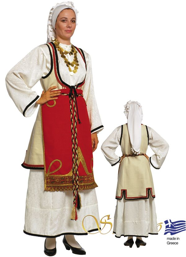 Woman costume from Central Greece - 641087