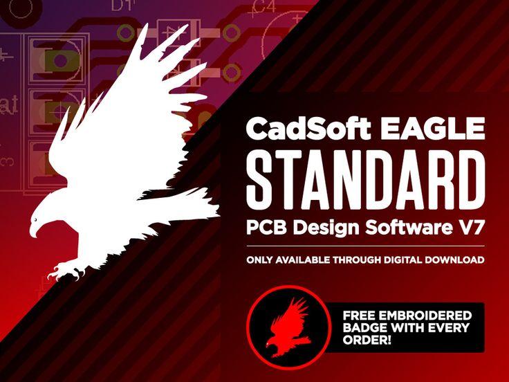 CadSoft EAGLE Standard PCB Design Software V7 - 3 Users