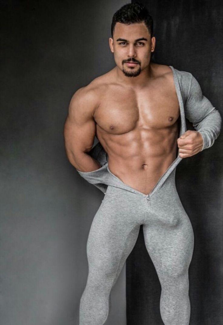 Sexy half dressed men, black oil orgy