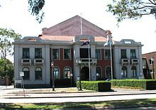 Williamstown Town Hall, opened 1927
