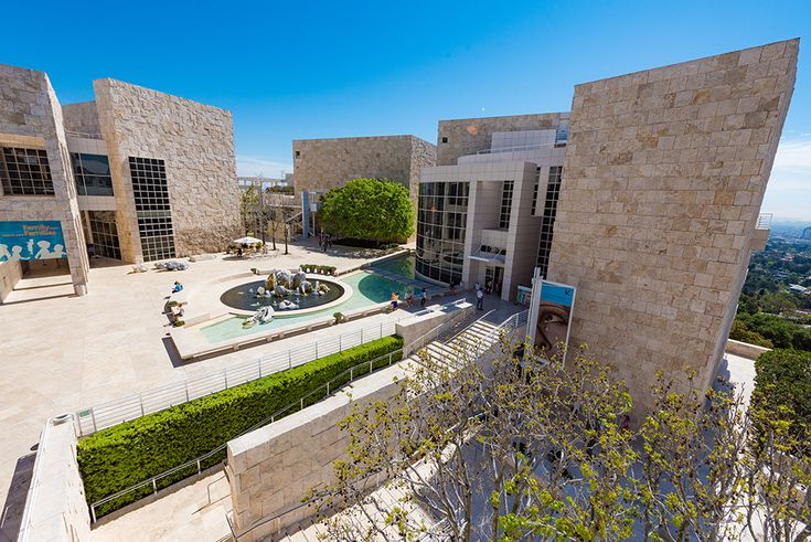 The Getty Center is a free museum in Los Angeles, and one of the top attractions in California.
