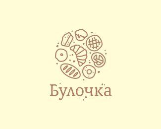 bulochka by Four Hands   -   Food Logo   -   logopond.com